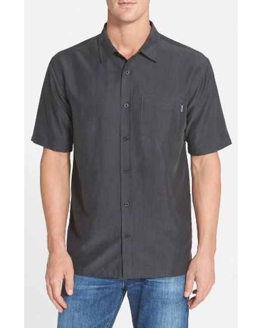 Jack O'neill | Blue 'ixtapa' Regular Fit Short Sleeve Woven Sport Shirt for Men | Lyst