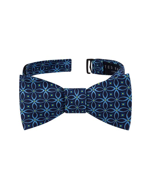 Ted Baker - Blue Geo Silk Bow Tie for Men - Lyst