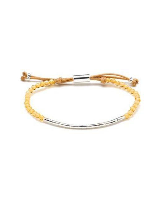 Gorjana - Metallic 'power Stone' Semiprecious Stone Bracelet - Lyst