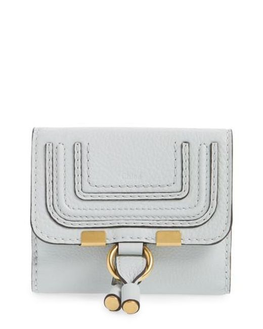 Chloé | Gray 'marcie' French Wallet | Lyst