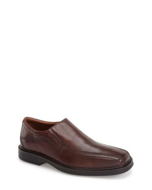 Johnston & Murphy | Brown 'penn' Venetian Loafer for Men | Lyst