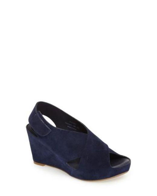 Johnston & Murphy | Multicolor 'tori' Wedge Sandal | Lyst