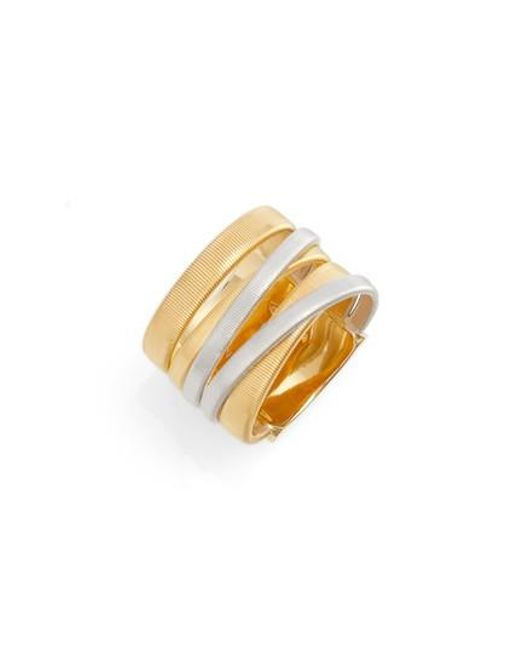 Marco Bicego   Metallic Masai Two-tone Ring   Lyst
