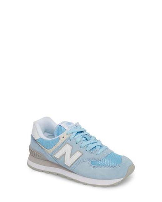 New Balance - Blue '574' Sneaker for Men - Lyst