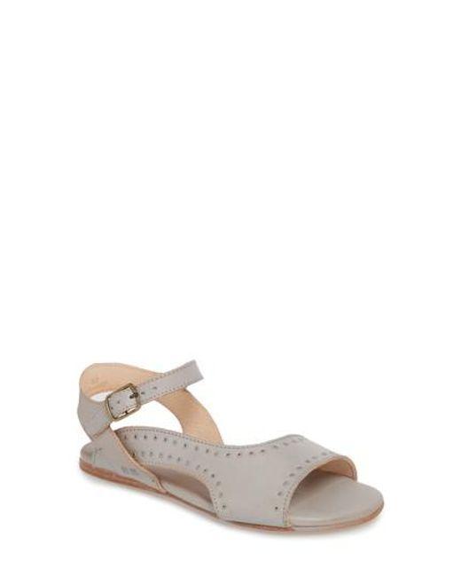 Bed Stu Auburn Metallic Ankle Strap Sandals T9lQLVFv