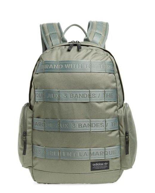61c3698093 Adidas Originals Create Iii Backpack in Green for Men - Lyst
