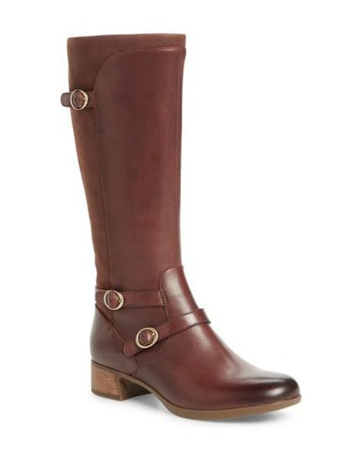 Dansko | Brown Lorna Tall Boot | Lyst