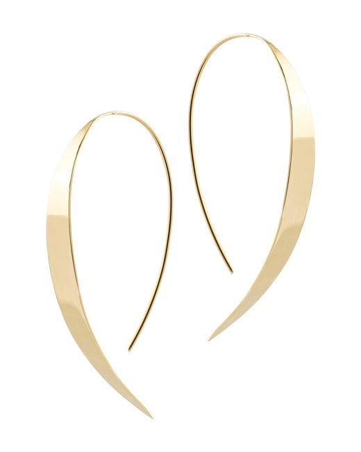 Lana Jewelry - Metallic Small Vanity Threader Hoops - Lyst