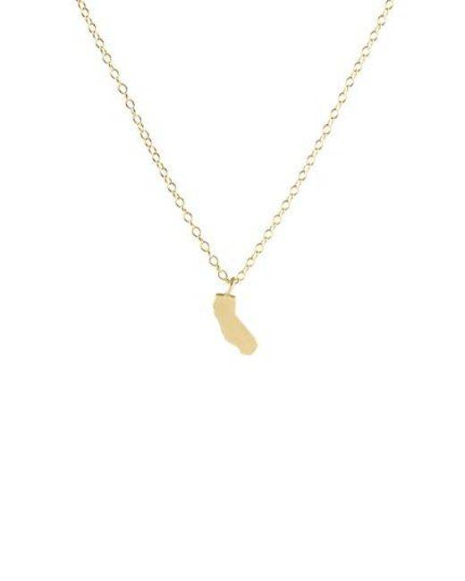 Kris Nations | Metallic Solid State Charm Necklace | Lyst