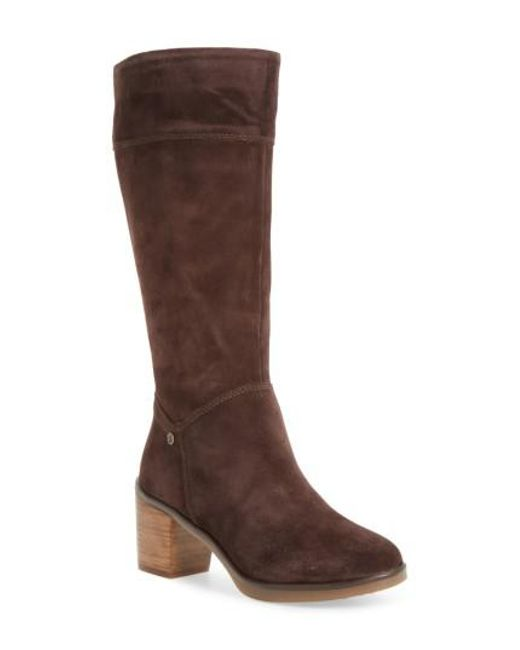 Hush Puppies | Brown Hush Puppies Saun Olivya Tall Boot | Lyst