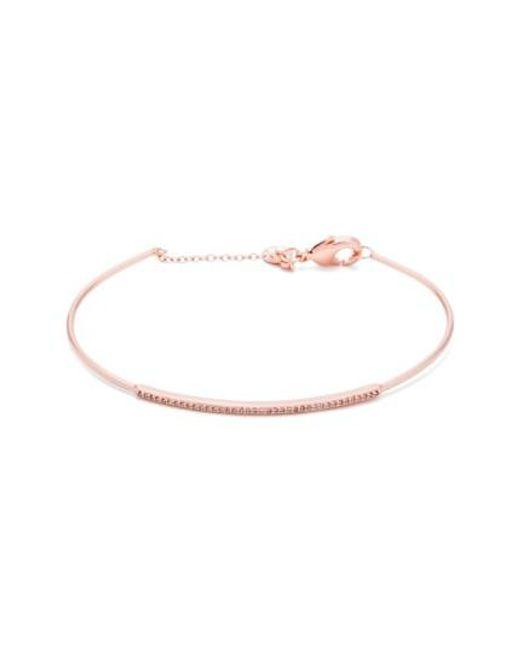 Gorjana | Metallic 'shimmer Bar' Pave Bracelet | Lyst