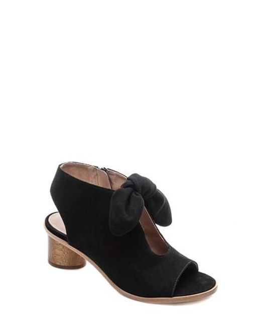 Bernardo Women's Knotted Suede Peep Toe Sandals Low Shipping Online Cheap Sale How Much Shopping Online Authentic Online bAJrMrPd3
