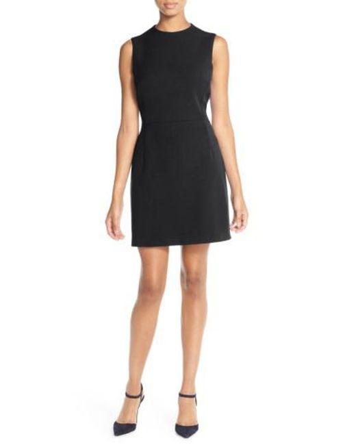 French Connection | Black 'sundae' Stretch Minidress | Lyst