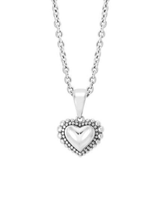 Lagos   Metallic Heart Pendant Necklace   Lyst