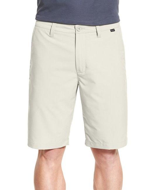 Travis Mathew | Natural 'hefner' Stretch Golf Shorts for Men | Lyst