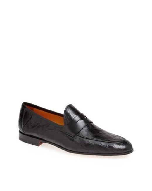Magnanni Shoes | Black 'carlos' Penny Loafer for Men | Lyst