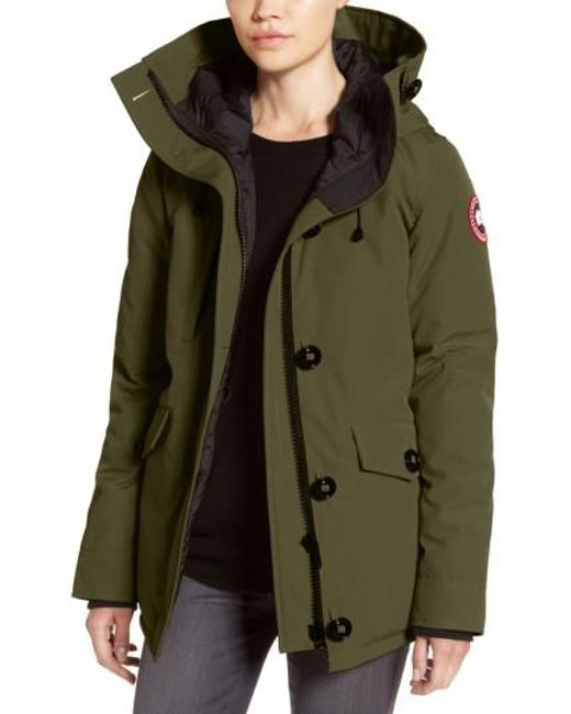 Canada Goose   Red 'rideau' Slim Fit Down Parka   Lyst