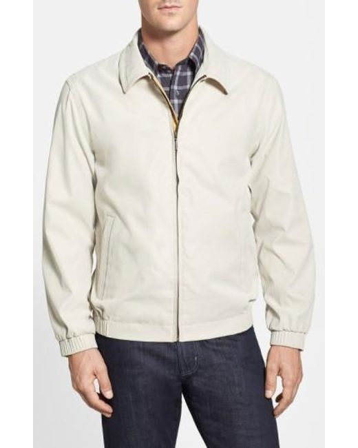 Rainforest   White 'microseta' Lightweight Golf Jacket for Men   Lyst