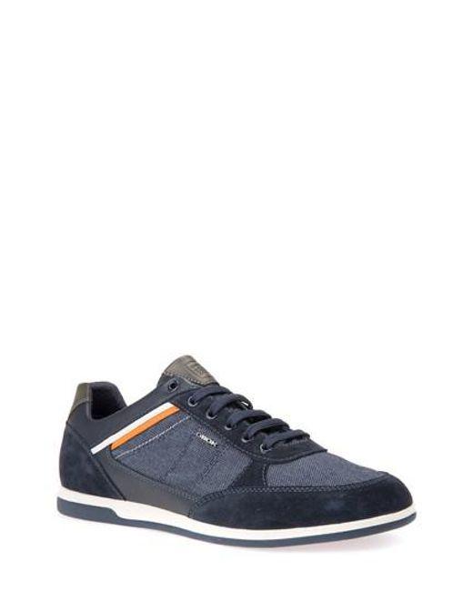 RENAN - Sneaker low - dark blue Verkauf 100% Original Preiswerte Art Und Stil Ausgezeichnete Günstig Online UhIGyizTZc