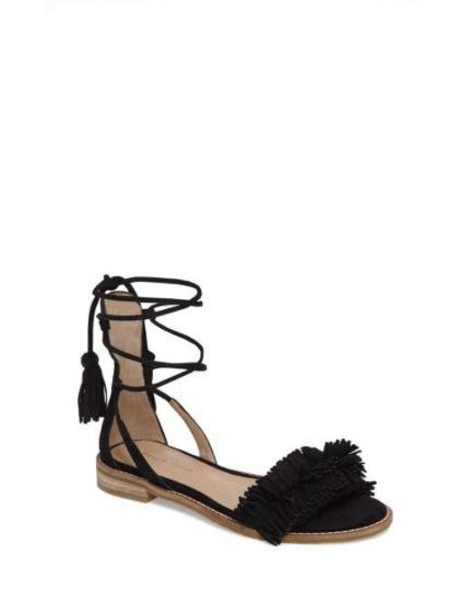 Pelle Moda | Black Harah Sandal | Lyst