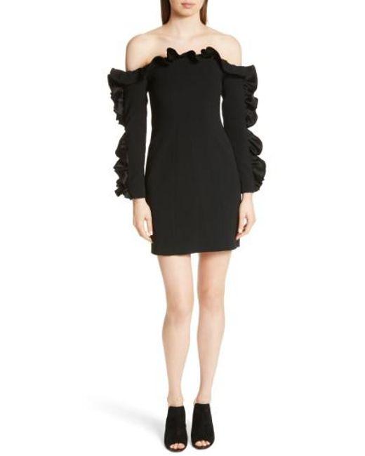 Cinq À Sept - Rosemarie Dress In Black - Lyst