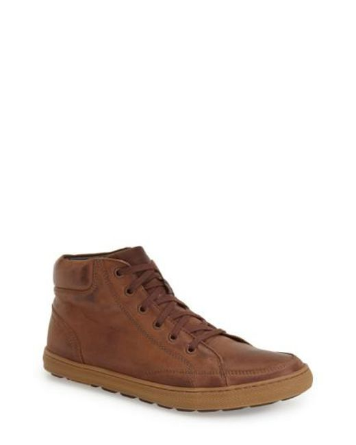 Anatomic & Co | Brown Santos Suede Sneakers for Men | Lyst