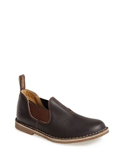 Blundstone | Brown Suede Slip-on for Men | Lyst