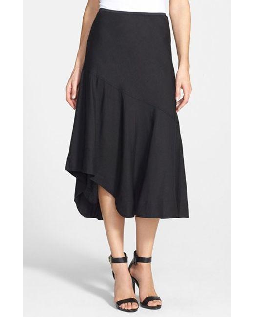 NIC+ZOE   Black 'the Long Engagement' Midi Skirt   Lyst