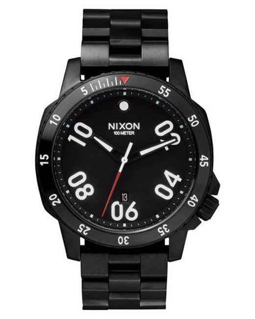 Nixon   Black 'the Ranger' Bracelet Watch for Men   Lyst