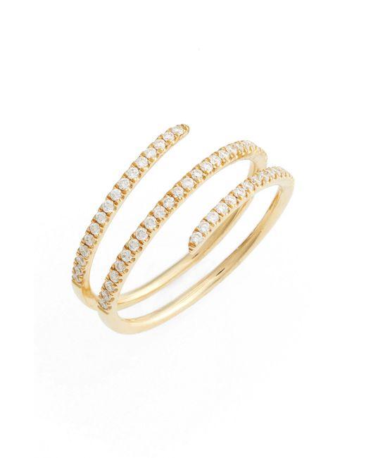 Bony Levy - Metallic Diamond Spiral Ring (nordstrom Exclusive) - Lyst