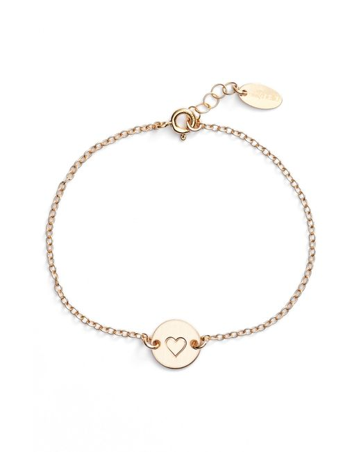 Nashelle - Metallic Mini Coin Bracelet - Lyst