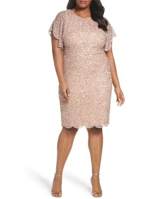 188c9d688d7f Pink Sequin Sheath Dress – Fashion dresses