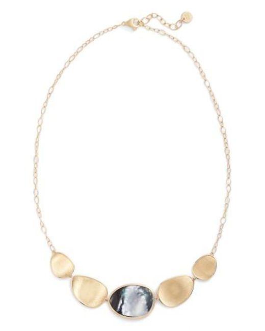 Marco Bicego | Multicolor Lunaria Collar Necklace | Lyst