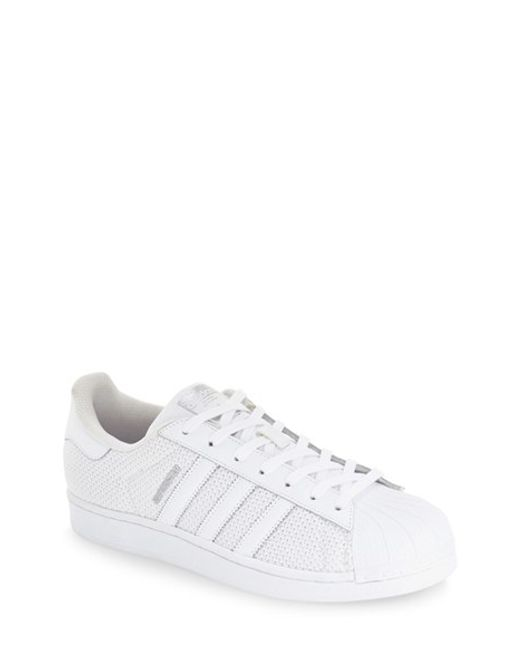 Adidas Originals | White 'superstar' Sneaker | Lyst