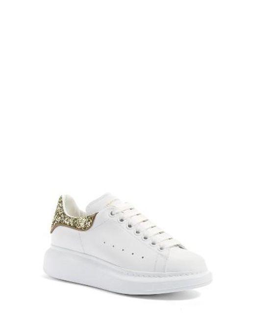 Alexander McQueen | White Sneaker | Lyst