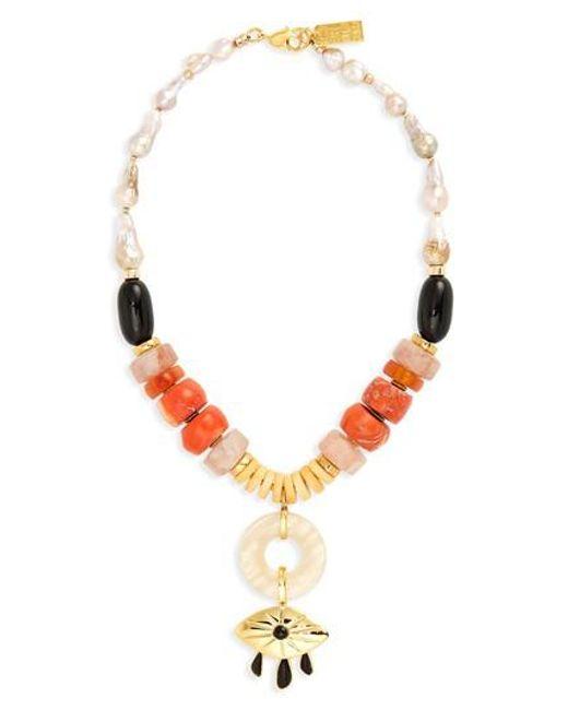 Lizzie Fortunato - Multicolor Capri Beaded Necklace - Lyst