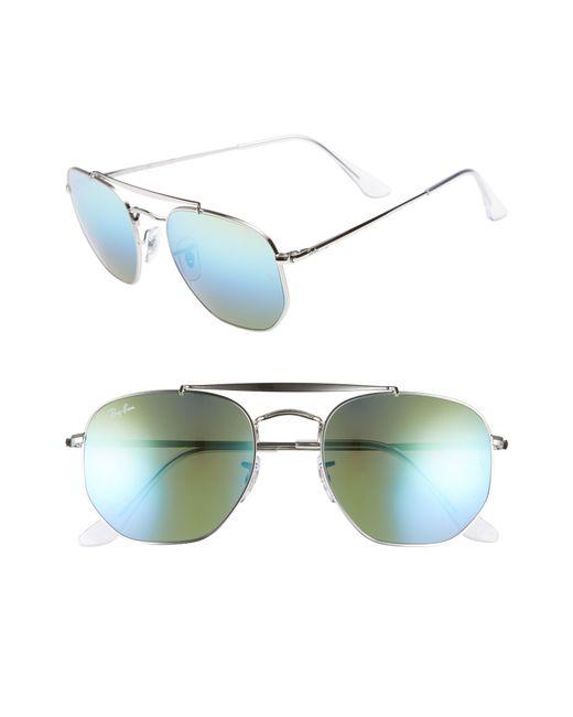 Ray-Ban - Green Marshal 54mm Aviator Sunglasses for Men - Lyst