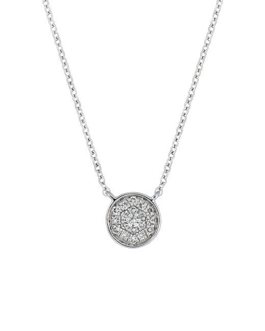 CARRIERE JEWELRY - Metallic Carriere Diamond Pave Disc Pendant (nordstrom Exclusive) - Lyst