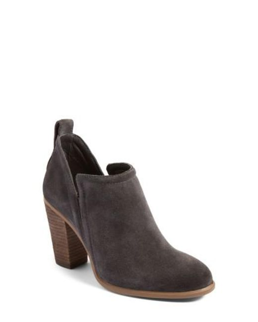 Vince Camuto   Brown Francia Bootie   Lyst