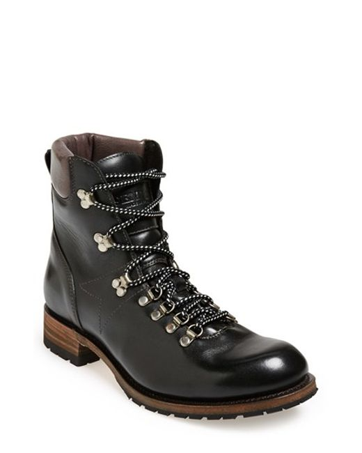 Sendra   Black 'alpine' Round Toe Boot for Men   Lyst