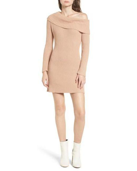 Somedays Lovin | Pink Like A Melody Off The Shoulder Dress | Lyst