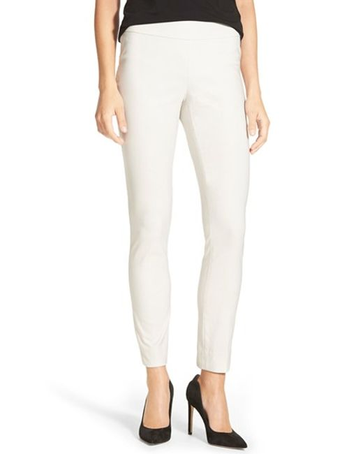 NIC+ZOE | Natural 'the Wonder Stretch' Slim Leg Pants | Lyst