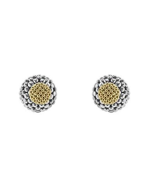 Lagos | Metallic Caviar Ball Stud Earrings | Lyst