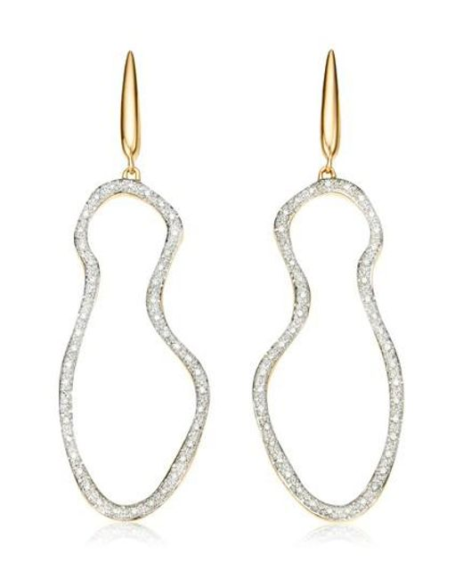 Monica Vinader | Metallic Riva Pod Cocktail Drop Earrings | Lyst