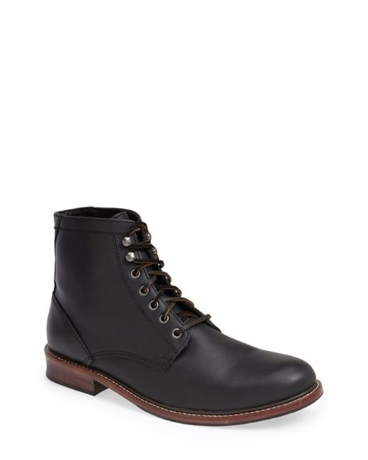 Eastland | Black 'elkton 1955' Plain Toe Boot for Men | Lyst