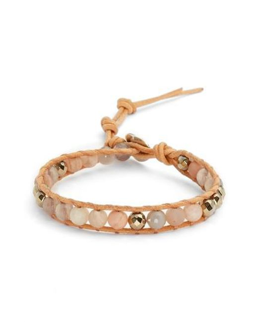 Chan Luu - Metallic Mixed Semiprecious Stone Bracelet - Lyst