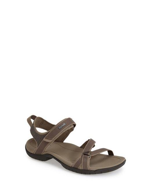 Teva | Brown 'verra' Sandal | Lyst