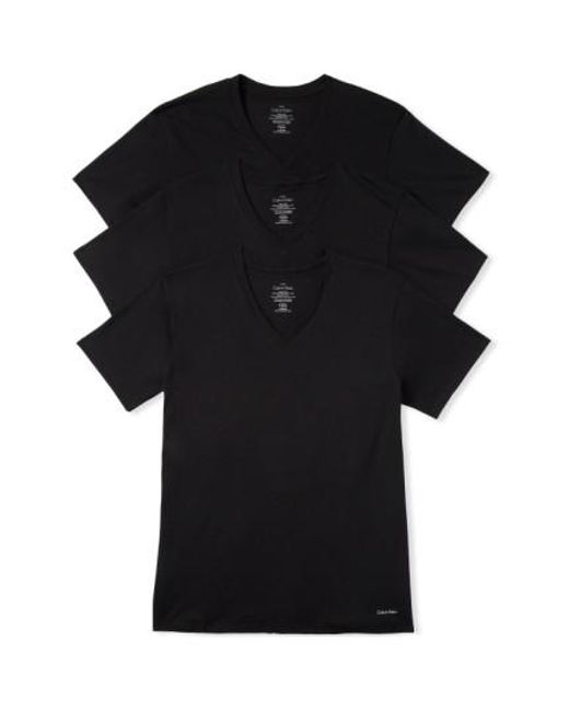 Calvin Klein | 3-pack Classic Fit T-shirt, Black for Men | Lyst