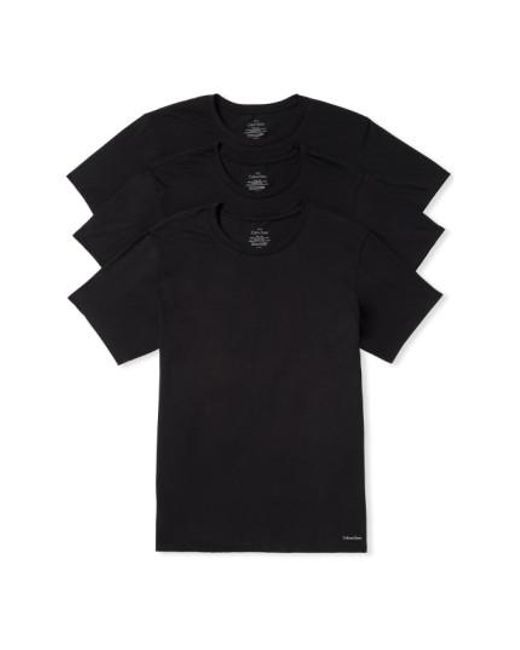 Calvin Klein | 3-pack Cotton T-shirt, Black for Men | Lyst