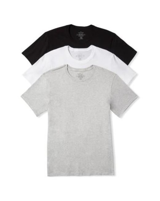 Calvin Klein | White Cotton Crewneck T-shirt, (3-pack) for Men | Lyst